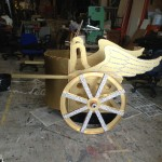 The golden chariot - a work of art!
